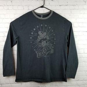 Disney Store Mickey Mouse LS Shirt 2XL